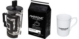 marrone french press seti siyah